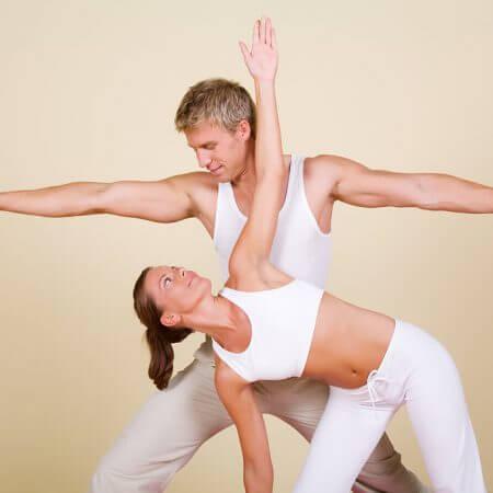 cuplu care face sport