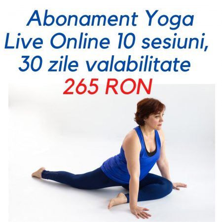 Abonament 10 sesiuni yoga